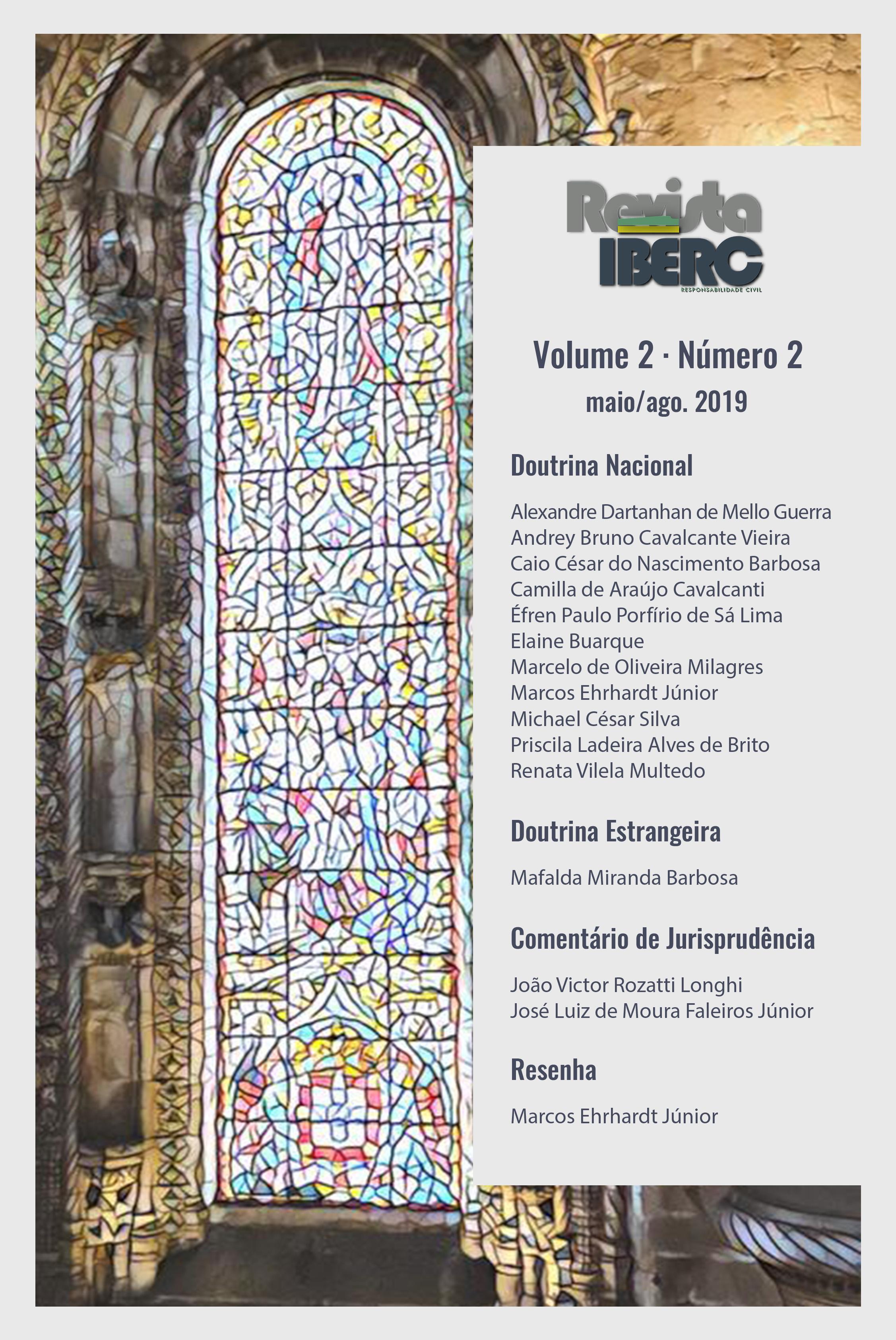 Capa da Revista IBERC - Volume 2 - Número 2