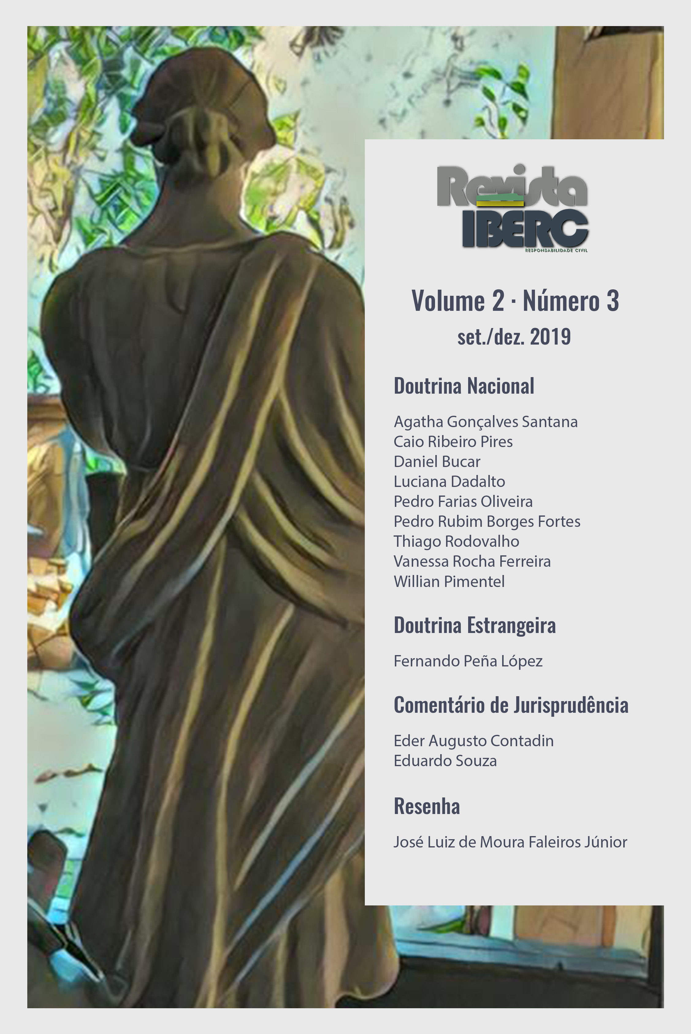 Capa da Revista IBERC - Volume 2 - Número 3