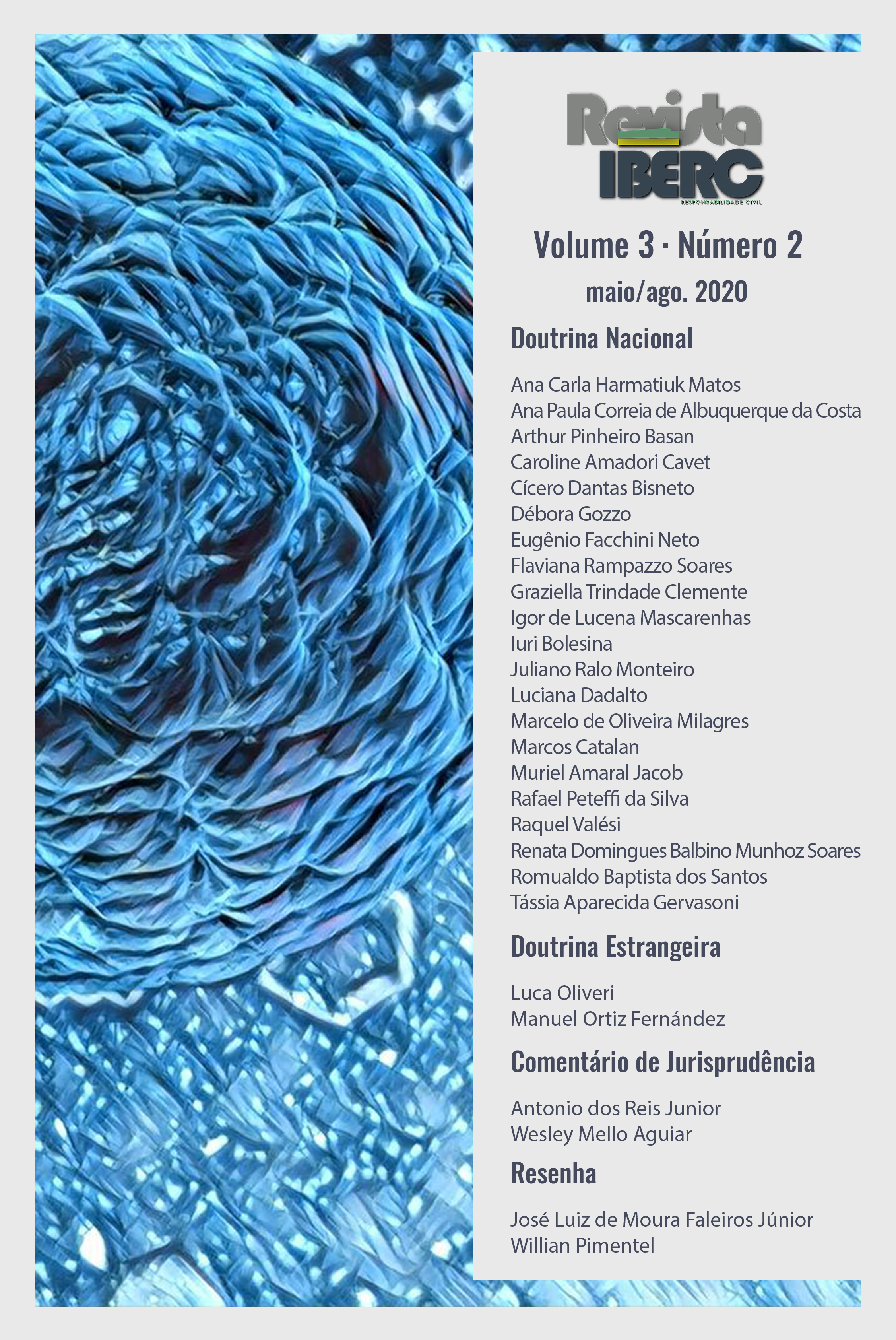 Capa da Revista IBERC - Volume 3 - Número 2